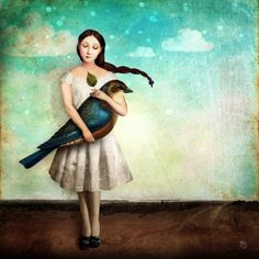 Christian Schloe - Поиск в Google Rhapsody In Blue, Magic Realism, Surrealism Painting, Figurative Art, Views Album, Trees To Plant, Disney Characters, Fictional Characters, Abstract Art