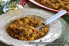 Olha que delícia para o #jantar, Arroz Cremoso de Camarão, é leve, super fácil e rápido de preparar!  #Receita aqui: http://www.gulosoesaudavel.com.br/2015/12/14/arroz-cremoso-camarao/