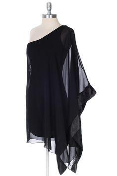 Kimono dress -- one sleeve