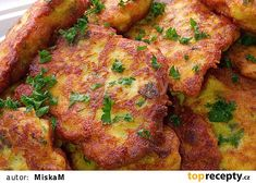 Kuřecí placičky v jogurtovém těstíčku s vůní drůbežího koření recept - TopRecepty.cz Slovak Recipes, Great Dinner Ideas, Cooking Light, Tandoori Chicken, Poultry, Cooking Tips, Mashed Potatoes, Food And Drink, Appetizers