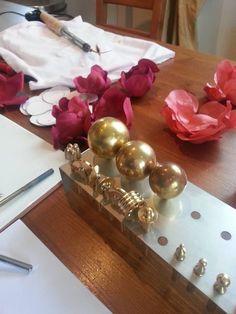 Flower making tools millinery judithm flowertools french solder tool flower fabricsilk mightylinksfo