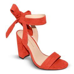 Women's Who What Wear Michaela Block Heel Quarter Strap Sandals - Rose 6.5, Ibis Rose