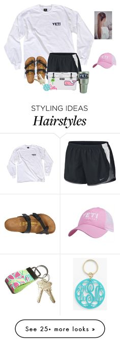 """Never worry about numbers. Help one person at a time, and always start with the person nearest to you"" by raquate1232 on Polyvore featuring NIKE, Birkenstock, Vineyard Vines, Lilly Pulitzer, Moon and Lola and ragansmostliked"