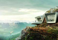 Museum - Messner Mountain Museen - Zaha Hadid