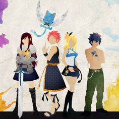 Fairy Tail protagonists by-doubleu42