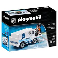 Your child can smooth out the ice before the big game with this PLAYMOBIL NHL Zamboni Machine playset. Nhl, Amazon Tribe, Nail Biting, Ice Rink, Imaginative Play, Ford Trucks, Team Logo, Big Game, Smooth
