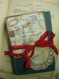 Redux 1921 Antique Shabby Chic French  Grammar by LeFrenchChateau, $22.00