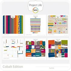 """I think I really like Project Life stuff. Not going to use it for a """"Project Life"""" album but for putting together new albums from some old pictures like childhood stuff."""
