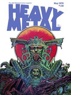 Heavy Metal - Vol. 2, No. 1 May 1978
