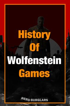 is a game franchise that has been around for a very long time. Here is the history of the franchise and the impact it has had on Return To Castle Wolfenstein, Wolfenstein The New Order, Wolfenstein 3d, Fps Games, Video Game Industry, Game Engine, First Person Shooter, First Game, My Favorite Part
