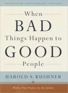 The best book to read when you are struggling to make sense of tragedy.