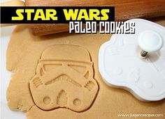 Paleo Star Wars cookies