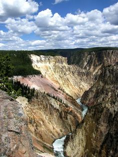 Le Grand Canyon du Yellowstone.