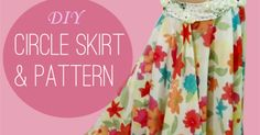 How to Make a Circle Skirt & Pattern for Belly Dancers