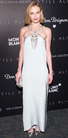 Look of the Day - January 14, 2015 - Kate Bosworth in Oscar de la Renta from #InStyle