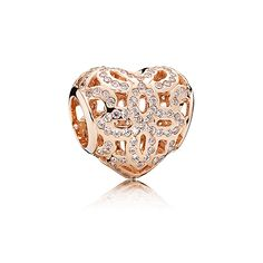 e886d9108 74 best Pandora rose gold charms images in 2016   Pandora charms ...