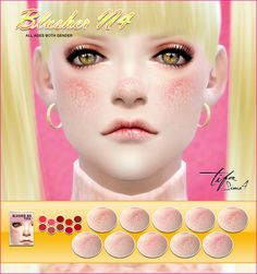 Sims 4 CC's - The Best: Blush by Tifa
