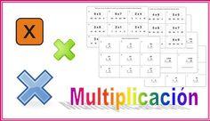 Fichas de iniciación a la multiplicación para primaria