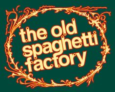The Old Spaghetti Factory, Cincinnati, Ohio--Still one of my all-time favorite pasta places. Affordable and tasty! My favorite--the mizithra cheese with browned butter--a taste all it's own.
