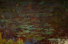 Claude Monet Sunset (right Half) oil painting reproductions for sale