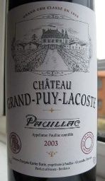 2003 Chateau Grand-Puy-Lacoste