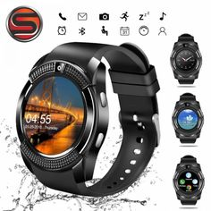29531e1f8 SOVOGU G24 Bluetooth Smart watches V8 1.22 inch Touch Screen Sleep Tracker  Camera Passometer SIM Card 0.3 MP Camera For Android. Android Review Smartwatch ...