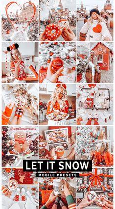 Let it Snow - 3 Lightroom Mobile Presets for just €3,64 ✨-70%Discount!!! @dolcevitapresets #lightroompresets #lightroom #mobilepresets #presets #editpic #blogger #winter #wonderland #ukblogger #picsart