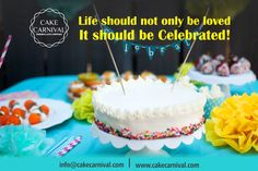 Amazing Birthday Celebration!!! Celebrate Birthday with #Cakecarnival: Great gifts at https://www.cakecarnival.com #BookAFlower #Birthday #BirthdayCelebration #cake