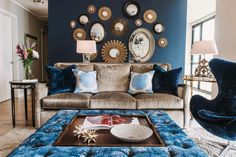 Navy and Baby blue combo? HGTV's Favorite Trends to Try in 2015 | Interior Design Styles and Color Schemes for Home Decorating | HGTV