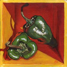 Shop for ArtAppealz Paige Wallis 'Poblano' Removable Wall Art. Get free delivery On EVERYTHING* Overstock - Your Online Art Gallery Shop! Be Still, Still Life, Vinyl Wall Art, Wallis, Easy Paintings, Medium Art, Online Art Gallery, Contemporary Art, Oriental