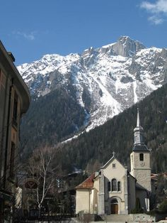 Chamonix, France, site of the first Winter Olympics in 1924.