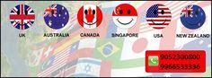 Study in UK, Australia, Canada, Singapore, USA, New Zealand Contact Sowrya consultancy  www.sowrya.com