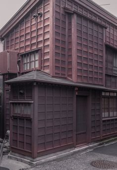 Creative Photography, Jan, Vranovsk, and Picdit image ideas & inspiration on Designspiration Wooden Architecture, Japanese Architecture, Facade Architecture, Architecture Collage, Wooden Facade, Wooden Buildings, House Cladding, Timber Cladding, Kanazawa