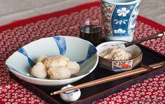Kuromitsu Abekawa (Japanese mochi dessert)
