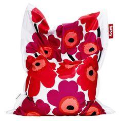 d8d906a838 Found it at AllModern - Marimekko Unikko Beanbag in Red Fat boy!  Contemporary Bean Bag