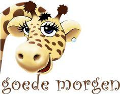 Goede morgen (giraf)