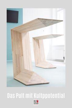 C3 - Das Pult mit Kultpotential. Stehtisch für moderne Einrichtung und vielfältigen Einsatz im Büro, auf der Messe, zuhause oder auf der Bühne. Stehpult aus Glasfaserverstärktem Kunststoff gefertigt. Auch für Draußen geeignet. Info unter +43 699 15990977 #stehtisch, #stehpult, #RiesProDesign Designer, Shelves, Home Decor, Stand Up Desk, Pedestal Desk, Decorative Lighting, Modern Interiors, Product Design, Interior Designing
