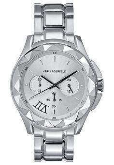 KARL LAGERFELD Zegarek chronograficzny silvercoloured