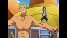 shirtless Zoro