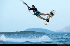 Triina Trei kiteboarder #love #kiteboarding #extremesports #travel #estonia #fun #surfhouse #romp #xtremespots