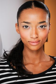 Anais Mali. Just discovered this model.  She's crazy gorgeous!  What a beautiful, unique look.