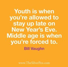 | Uh Huh! | quotes on aging