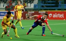 Premier but pour Tom Boon en India League — Hockeybelgium Tom Boon, Field Hockey, Hockey Teams, Panthers, Lions, Red, Athlete, Lion, Hockey
