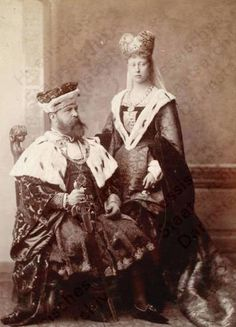 Louis IV, Grand Duke of Hesse and Victoria, Marchioness of Milford Haven. Cr.tumblr
