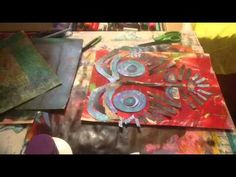 ▶ Use Up Your Muddy Prints - Gelli Arts Gel Printing Plate - YouTube. In this tutorial, I share an example of how I use up muddy and otherwise unusable prints I have made with my Gelli Arts Gel Printing Plate. Newsprint, Collage Pauge, Uni Posca Paint Pens, and a pencil are also used. This video includes clips from over 50:00 minutes of raw footage. You can find more examples of my work here: Web - www.FeliciaBorges.com