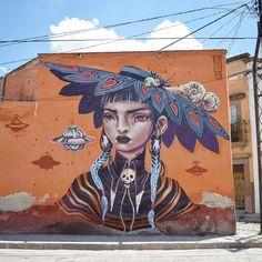 """4,423 Me gusta, 79 comentarios - Lᴀᴜʀᴇɴ YS (@lolo.ys) en Instagram: """"""""Catrina"""" • San Miguel de Allende, Mexico. Thanks to @murosenblanco X @n30n3 Happy 110th bday,…"""""""