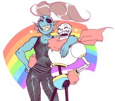 one is a lesbian and the other is ace/aro how is it that the queer kids always manage to find one another lmao ncie