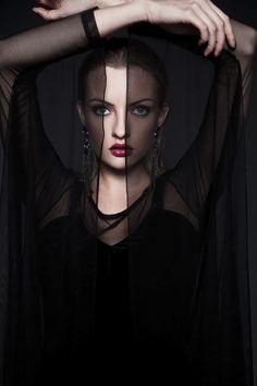 Devil fashion by Antonina Dolani, via Behance
