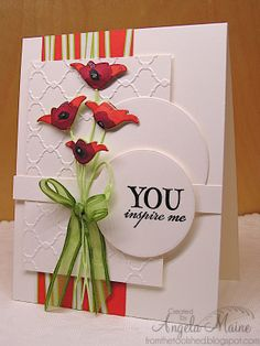 Card by Angela Maine using Dare to Be from Verve.  #vervestamps