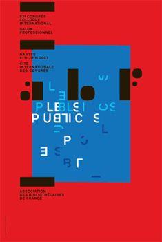 Philippe Apeloig: ABF Poster